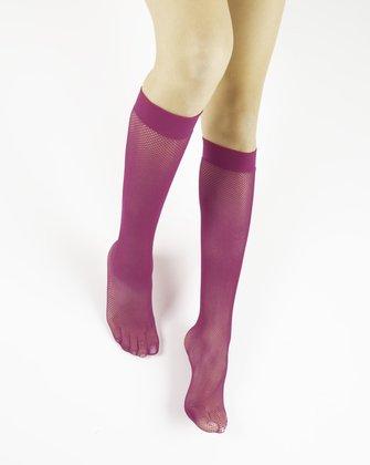 Fuchsia Womens Knee Highs We Love Colors