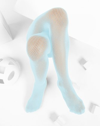 Aqua Kids Fishnet Pantyhose | We Love Colors