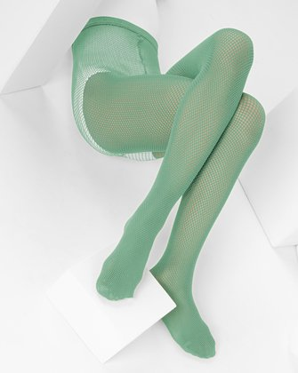Scout Green Kids Fishnet Pantyhose We Love Colors