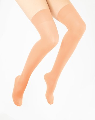 Light Orange Womens Thigh Highs We Love Colors