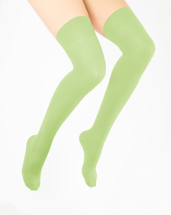 Mint Green Womens Thigh Highs We Love Colors