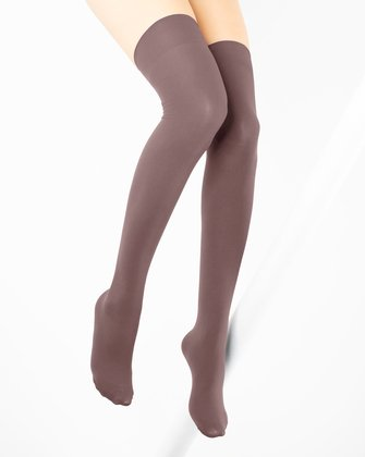 Mocha Womens Thigh Highs We Love Colors