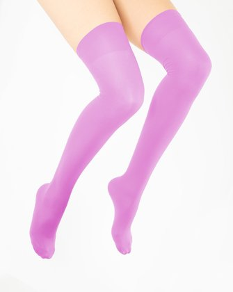 Orchid Pink Womens Thigh Highs We Love Colors