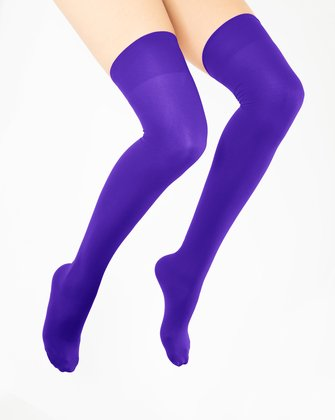 Violet Womens Thigh Highs We Love Colors