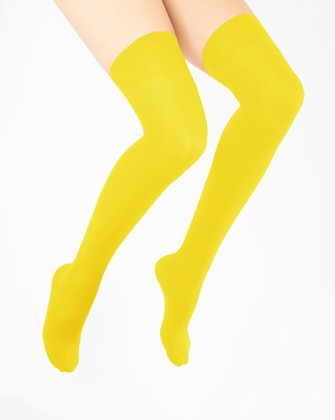 Yellow Womens Thigh Highs We Love Colors