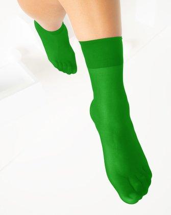 Kelly Green Womens Socks We Love Colors