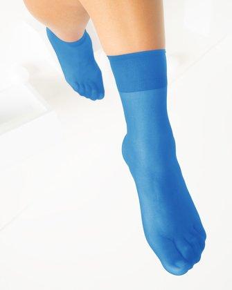 Medium Blue Womens Socks We Love Colors
