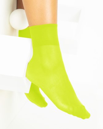 Neon Yellow Womens Socks We Love Colors