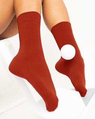 Rust Womens Socks We Love Colors
