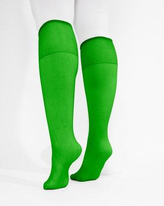 Kelly Green Womens Knee Highs | We Love Colors