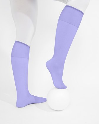Lilac Womens Knee Highs We Love Colors