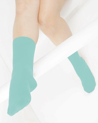 Dusty Green Womens Socks | We Love Colors