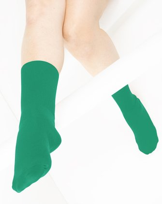 Emerald Womens Socks | We Love Colors