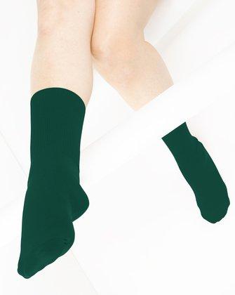 Hunter Green Womens Socks | We Love Colors