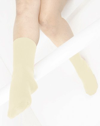 Ivory Womens Socks | We Love Colors