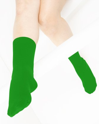 Kelly Green Womens Socks We Love Colors