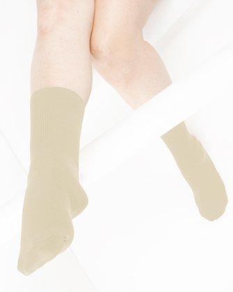 Light Tan Womens Socks | We Love Colors