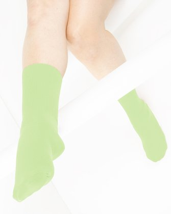 Mint Green Womens Socks | We Love Colors