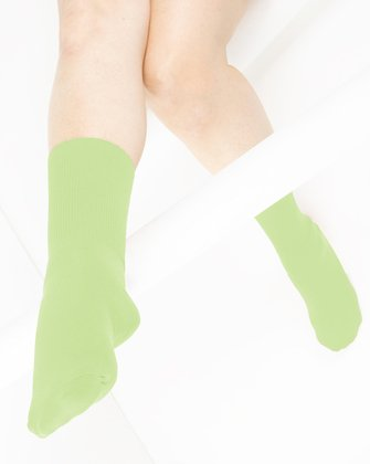 Mint Green Womens Socks We Love Colors