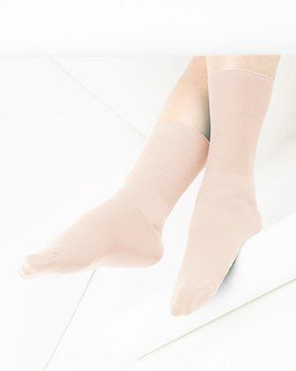 Peach Womens Socks We Love Colors