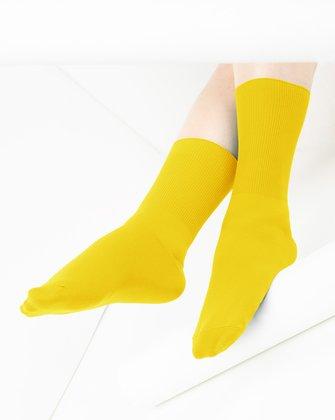 Yellow Womens Socks We Love Colors