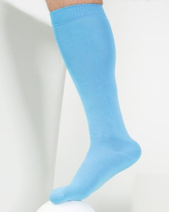 Sky Blue Womens Socks We Love Colors