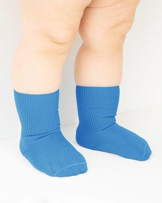 Medium Blue Kids Socks We Love Colors