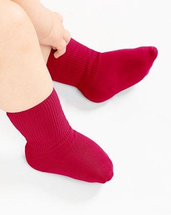 Red Kids Socks   We Love Colors