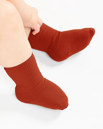 Rust Kids Socks We Love Colors