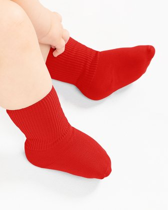 Scarlet Red Kids Socks We Love Colors