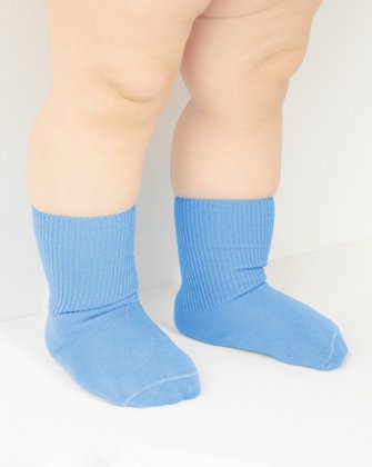 Sky Blue Kids Socks We Love Colors