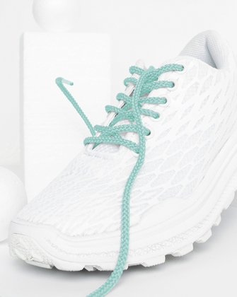 Dusty Green Kids Laces We Love Colors