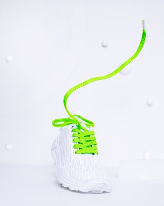 Neon Green Womens Laces We Love Colors