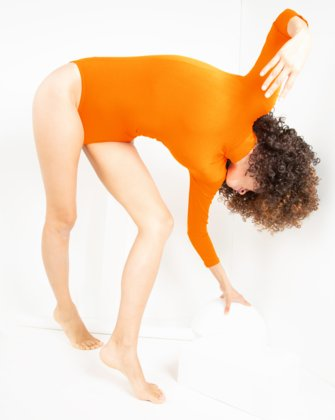 Neon Orange Womens Dancewear We Love Colors