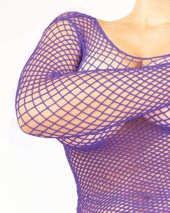 Lavender Womens Fishnet Bodywear | We Love Colors