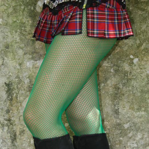 Green Fishnet Leggings Kelly Green Fishnets