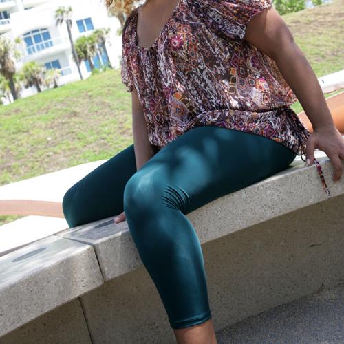 64e0d6fc635 New we love colors plus size leggings!! These leggings are made of matte  nylon tricot 90% nylon  10% lycra