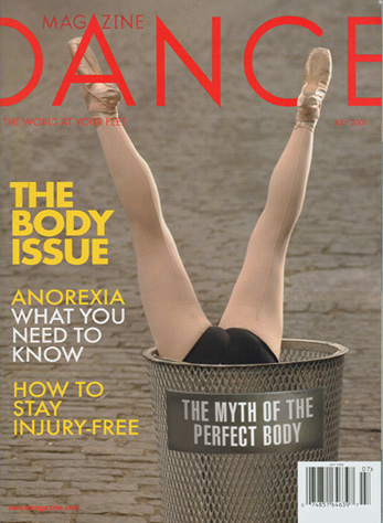 Dance Magazine - July 2006 Cover