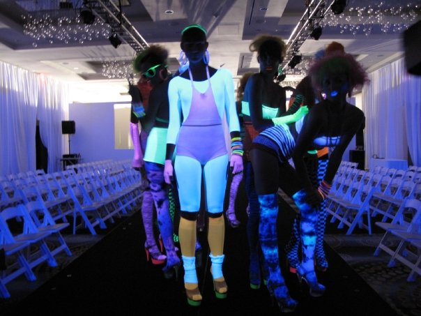 The Eden Roc in Miami Beach glowed with We Love Colors items during Fashion Week