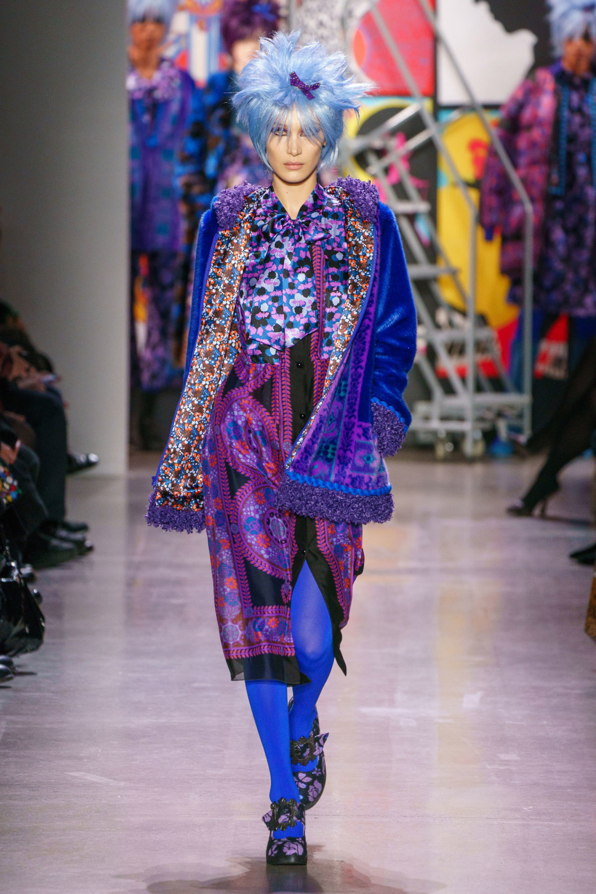 Anna Sui – Fall 2019 Collection - We Love Colors