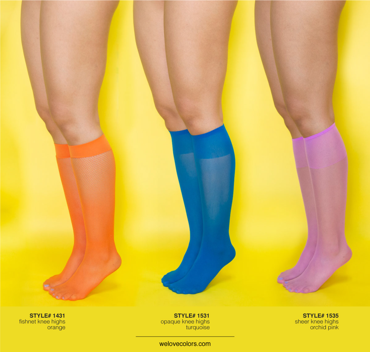0d7d9aba93890 We Love Colors Socks, Knee Highs And Thigh Highs - We Love Colors