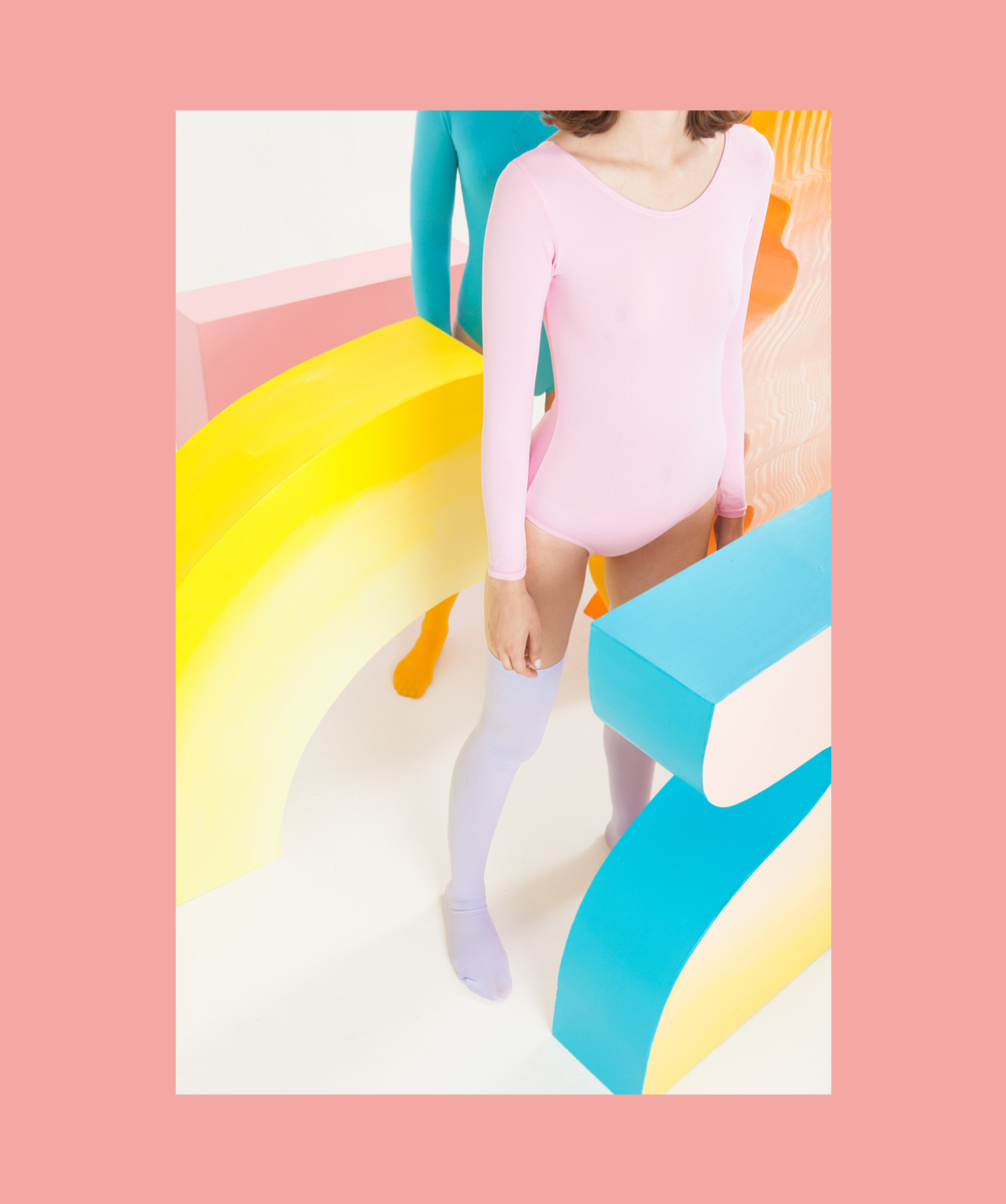 fashion editorial pastel colors