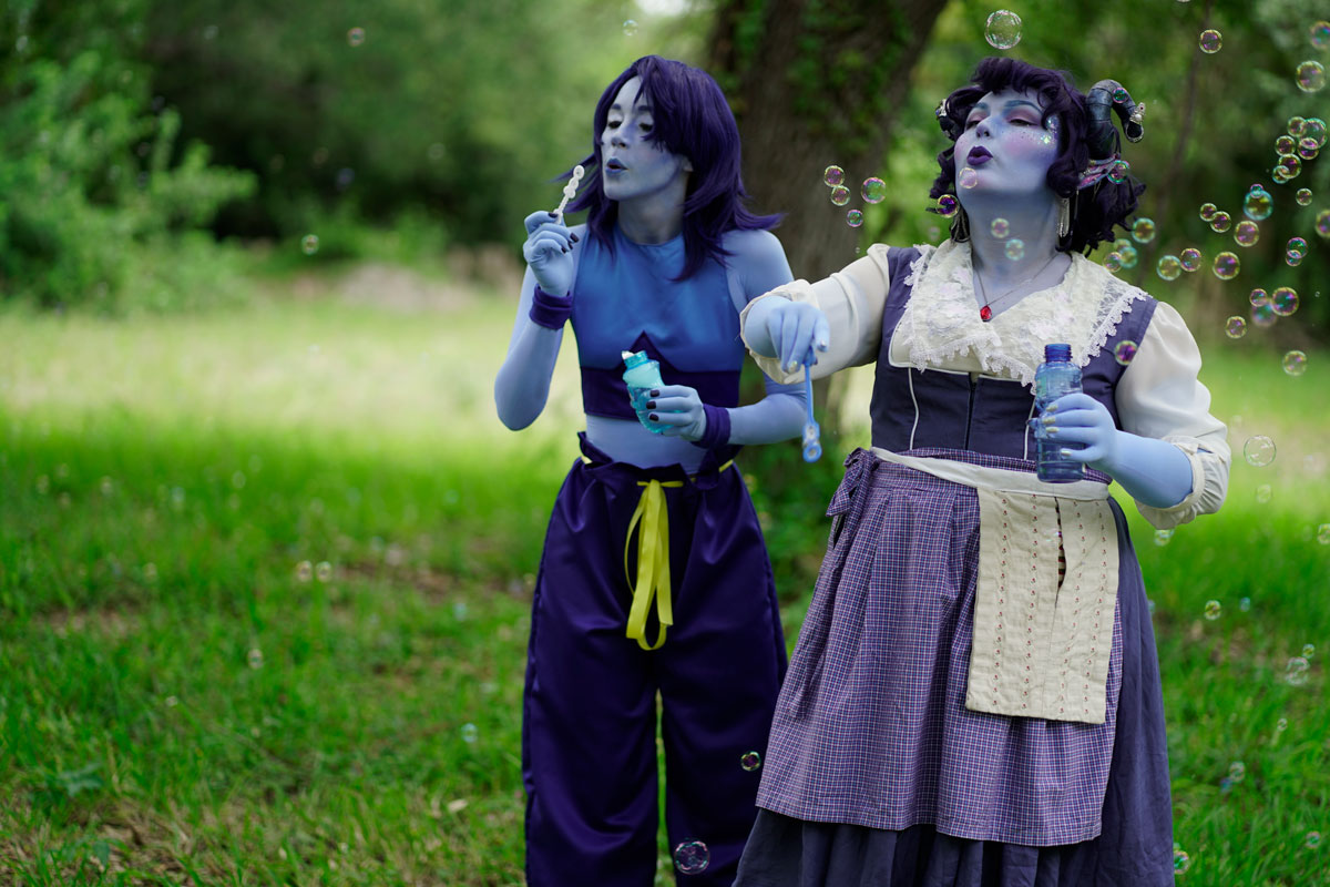 Cosplaying Colorful Characters Made Easy - We Love Colors