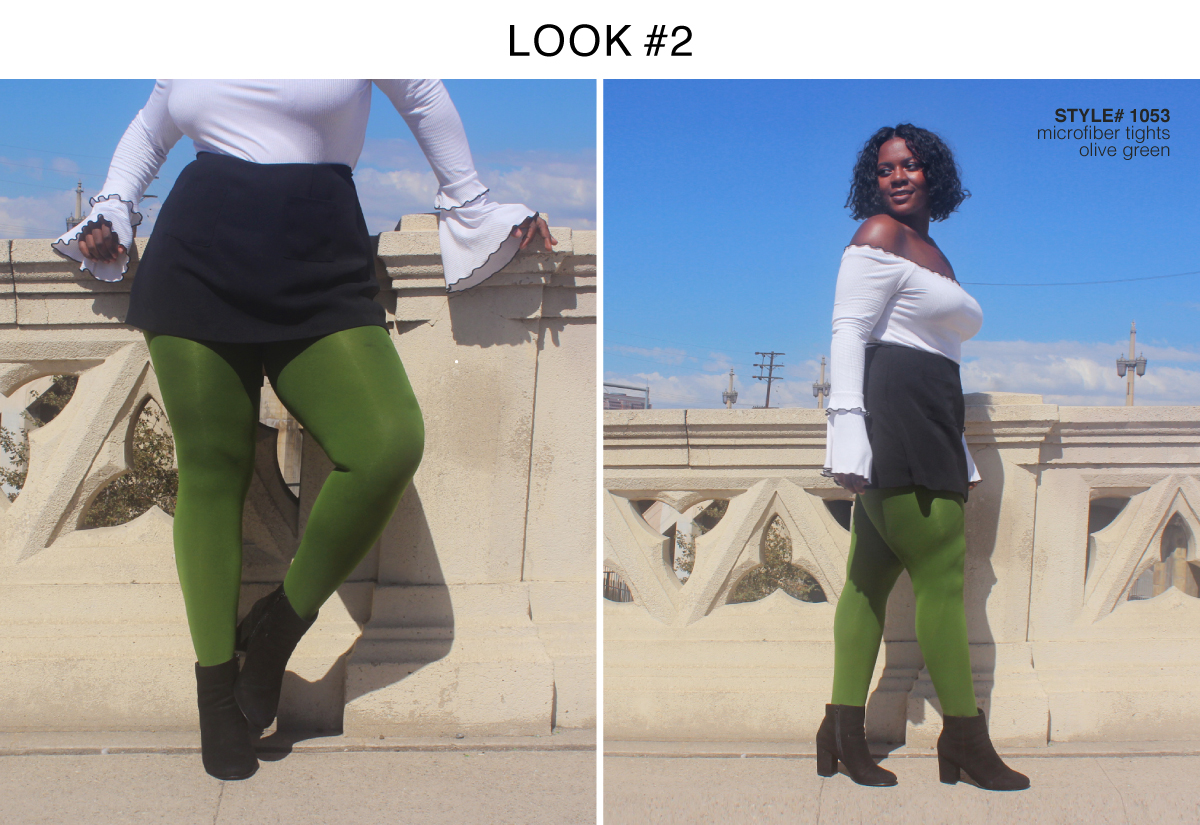 Best Colored Tights For Fall 2018 Olive Green