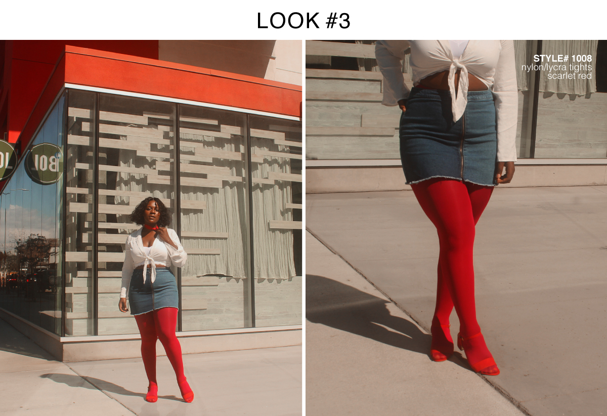 Best Colored Tights For Fall 2018 Red