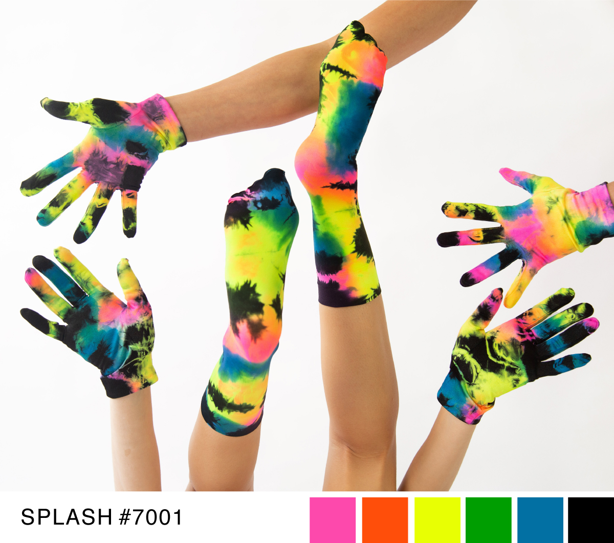 Best Tie Dye Splash Colors 7001