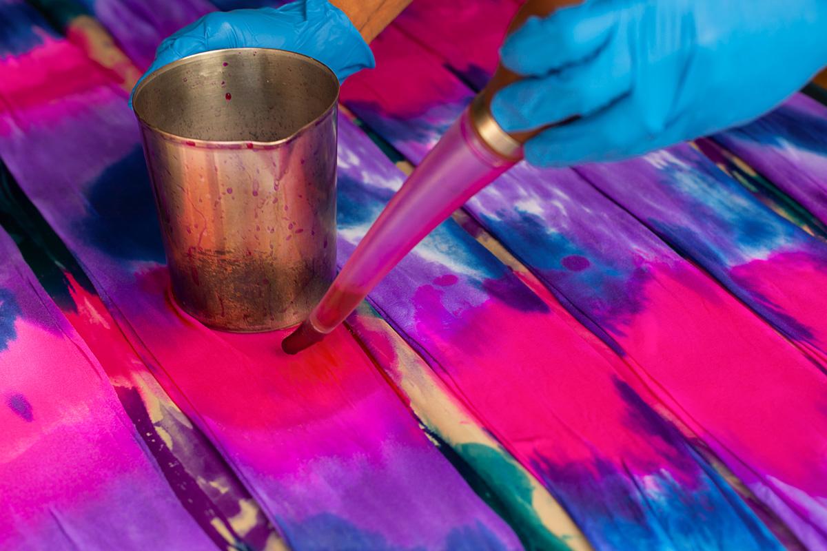 Best Tie Dye Splash Colors Process 1