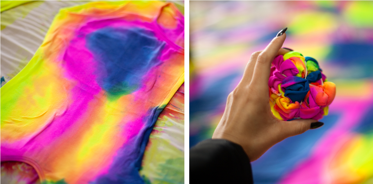 Best Tie Dye Splash Colors Process 2