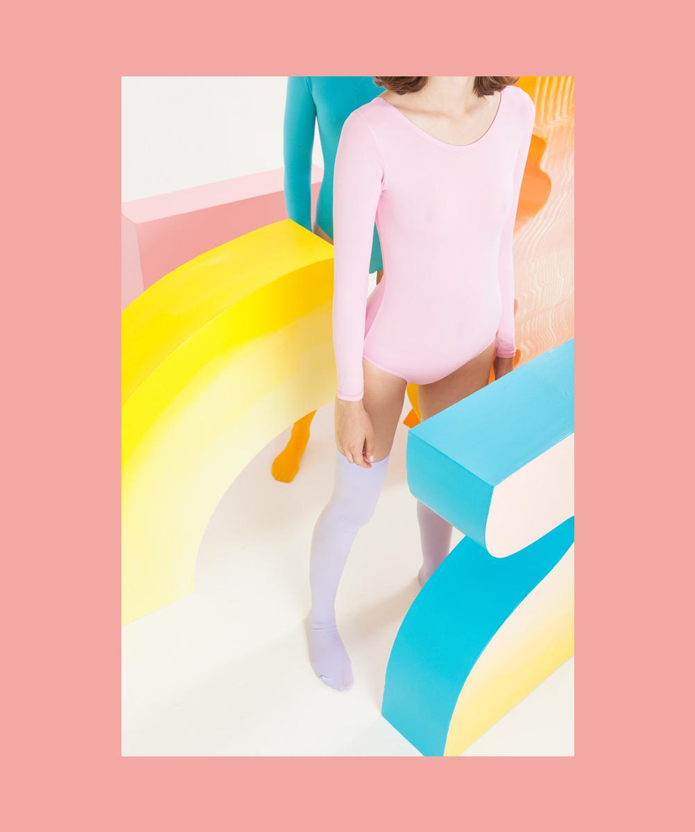 fashion editorial pastel colors