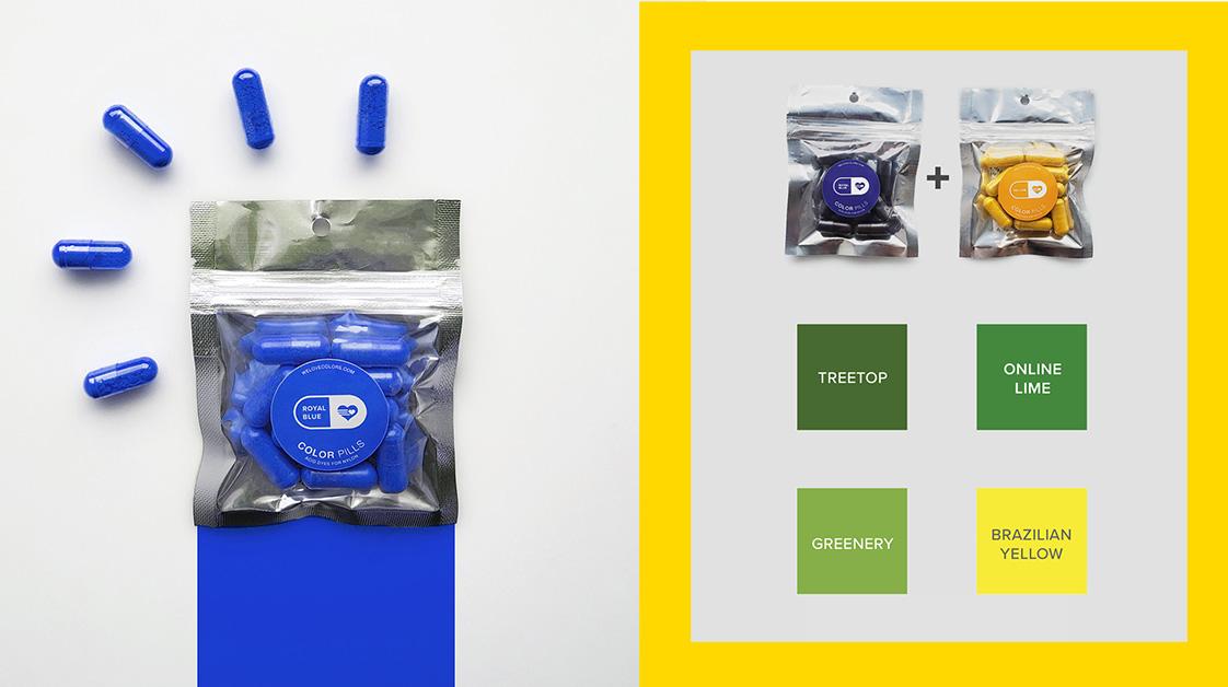 Color Pills Professional Nylon Dyes Combine